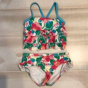 Gymboree Bikini Tankini Swimsuit Bathing Suit Sz 8